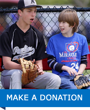 Make a Donation Link - Miracle League Player and Mentor