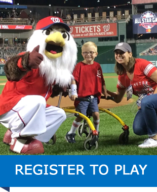 Register to Play - Player at Nats Park