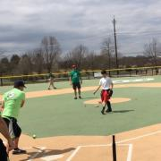 Pitching to the batter