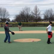 Taking the pitching mound